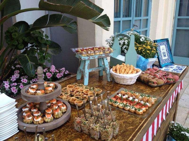 מגשי אירוח - הפקת חתונות ביתיות