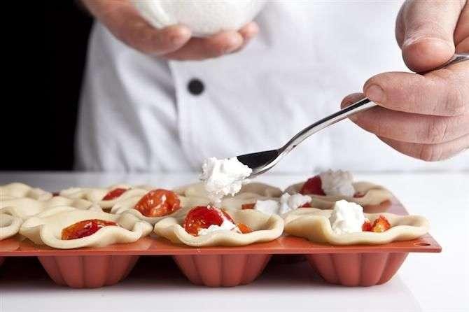 קיש ריקוטה נפלא, פסטו ועגבניות מיובשות