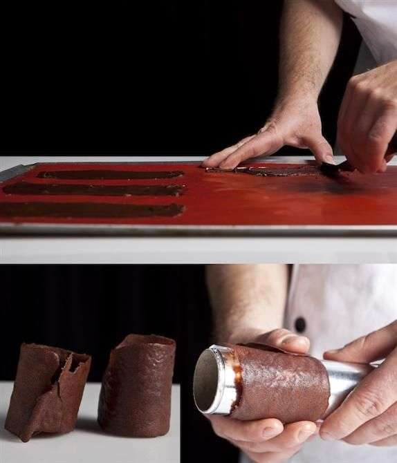 הכנת טוויל שוקולד