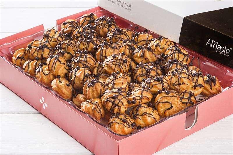 מגשי אירוח - קראנצ'יפנים שוקולד