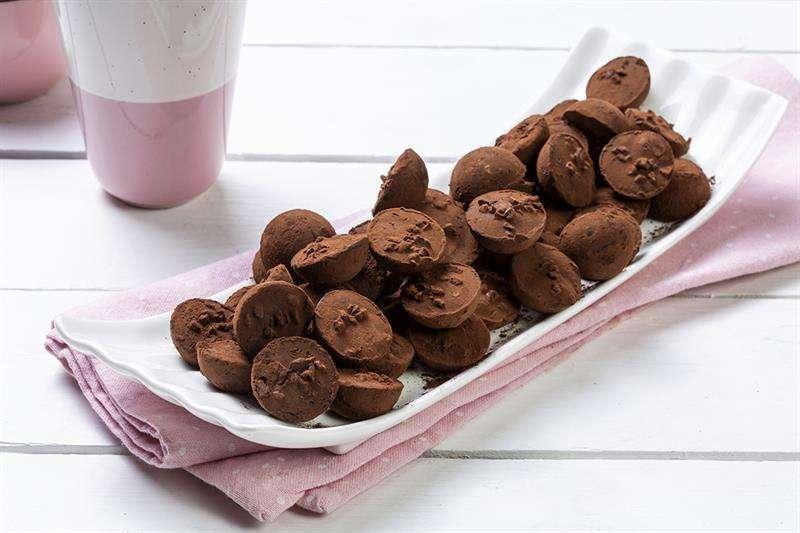 מגשי אירוח - טראפלס שוקולד קפה (ללא תוספת סוכר)