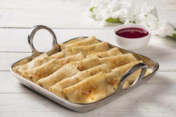 מגשי אירוח - בלינצ'ס גבינה קלאסי